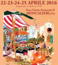 """A Moncalieri il """"Mercato delle Regioni"""" da venerdì 22 a lunedì 25 aprile"""