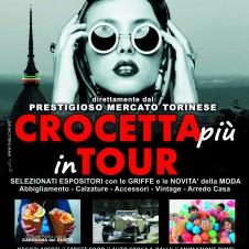 """Domenica 7 maggio """"Crocetta più in tour"""" in viale Gramsci (Grugliasco / Collegno): bancarelle con le griffe della moda, street food, negozi aperti e animazione per i bambini"""