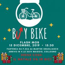 """""""Buy Bike"""", il 15 dicembre flash mob da Grugliasco a Collegno"""