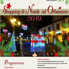 """""""Shopping di Natale a Orbassano"""": un ricco cartellone di eventi e iniziative organizzato da Confesercenti e Comune. Ecco il programma"""
