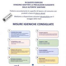 Torino – Coronavirus, la locandina con le misure di prevenzione da esporre nei negozi e nei locali. Scaricala e stampala, o ritirala nella sede di Confesercenti