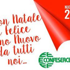 In occasione delle festività natalizie giovedì 24 dicembre e giovedì 31 dicembre gli uffici Confesercenti rimarranno chiusi