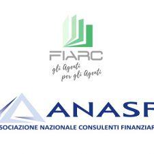 Fiarc e Anasf insieme per il cambiamento e la ripresa economica: fra le due associazioni un progetto e obiettivi comuni per rappresentare al meglio le istanze degli agenti di commercio e dei consulenti finanziari