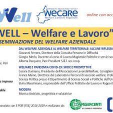 """""""Well – Welfare e lavoro"""", un'esperienza di disseminazione del welfare aziendale: martedì 13 aprile un convegno organizzato da Confesercenti"""