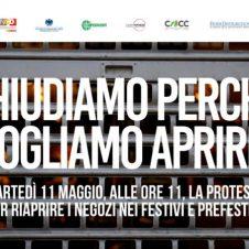 Domani saracinesche abbassate nei negozi dei centri commerciali: la protesta per chiedere la riapertura immediata nei festivi e prefestivi